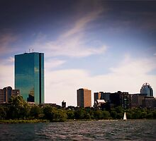 Boston's Back Bay by MichaelSimeone
