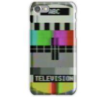 Vintage test image iPhone Case/Skin
