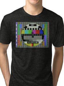 Vintage test image Tri-blend T-Shirt