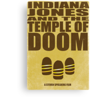 Indiana Jones and The Temple of Doom Canvas Print