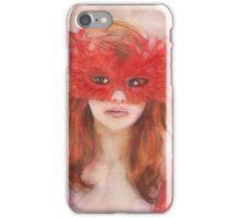 Le Masque Rouge iPhone Case/Skin