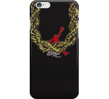 Old School Gold Rope Chain and classic logo 2 iPhone Case/Skin