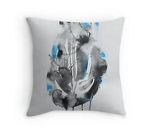 Untitled Abstract Study 44 Throw Pillow