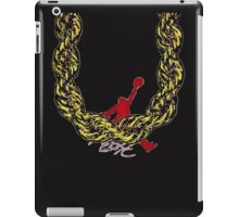 Old School Gold Rope Chain and classic logo 2 iPad Case/Skin