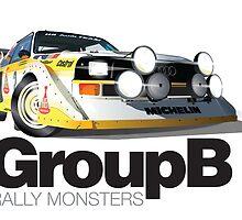 Audi Quattro S1 - Col de Turini by tomredod