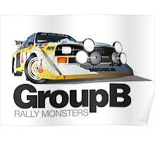 Audi Quattro S1 - Col de Turini Poster