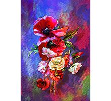 Poppies. Photographic Print