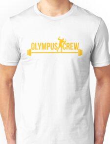 gold olympus logo Unisex T-Shirt