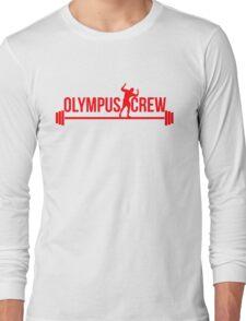 red olympus logo Long Sleeve T-Shirt