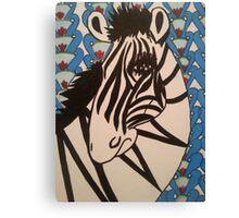 Ratchet Zebra Canvas Print