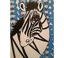 Ratchet Zebra Photographic Print