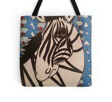 Ratchet Zebra Tote Bag