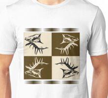 Bull elk collage  Unisex T-Shirt