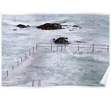 Natural Pool in Guernsey,  Channel Islands Poster