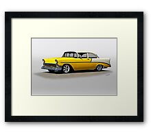 1956 Chevrolet Post Coupe I Framed Print