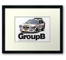 Lancia Delta S4 - Tour de Corse Framed Print