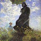 Vader with a Parasol by limpfish