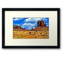 Navajo Nation Framed Print