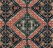 Geometric Decorative Motif by DFLC Prints