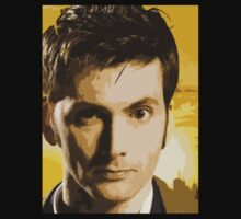 David Tennant - Doctor Who (No.10) by Marjuned