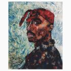Tupac by vanGogh by art-customized