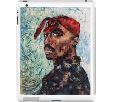 Tupac by vanGogh iPad Case/Skin