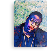 Biggie by vanGogh Metal Print