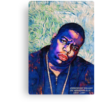 Biggie by vanGogh Canvas Print
