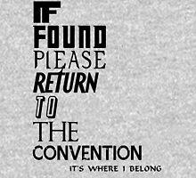 If found Unisex T-Shirt