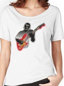 Jazz Guitarist  Women's Relaxed Fit T-Shirt