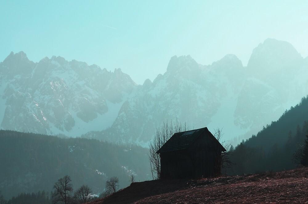 Shack in austrian mountains by ak4e