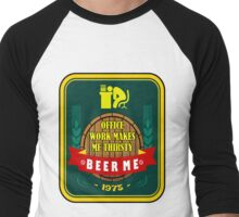 Beer Me Men's Baseball ¾ T-Shirt