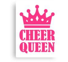 Cheer queen champion Canvas Print