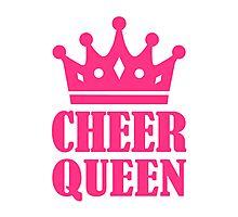 Cheer queen champion Photographic Print