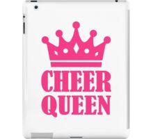 Cheer queen champion iPad Case/Skin
