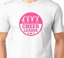 Cheerleader dancing Unisex T-Shirt