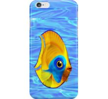 Tropical Fish on Clear Ocean Water 3D iPhone Case/Skin