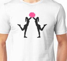 Cheerleader girls pom Unisex T-Shirt