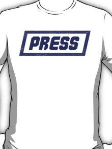 PRESS Blue - FrontLine T-Shirt