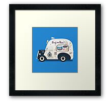 Ode to Cornetto Part 2 Framed Print