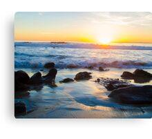 Sunset at Laguna Beach California Canvas Print