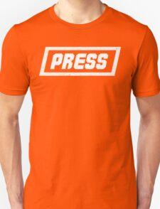 PRESS White - FrontLine T-Shirt