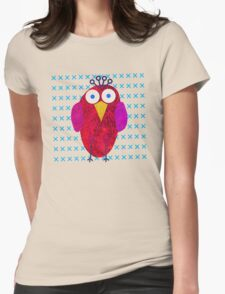 Owlette III Womens Fitted T-Shirt