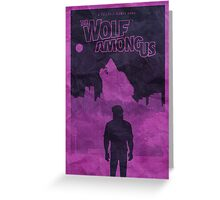 The Wolf Among Us - Poster Greeting Card