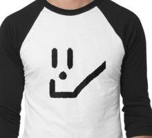 Smile Logo   Inspire a Smile, Improve a Community Men's Baseball ¾ T-Shirt