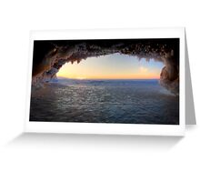 Last One,  Apostle Islands, WI Greeting Card