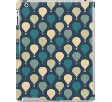 Whimsical Hot Air Balloon Pattern iPad Case/Skin