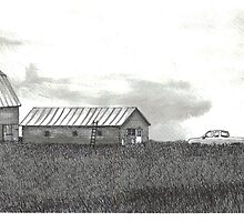 Maritime Farm Cape Breton Nova Scotia by Jonathan Baldock