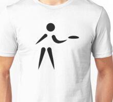Disc golf player Unisex T-Shirt
