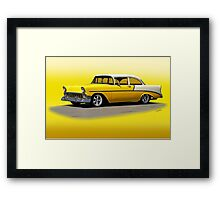 1956 Chevrolet Post Coupe II Framed Print